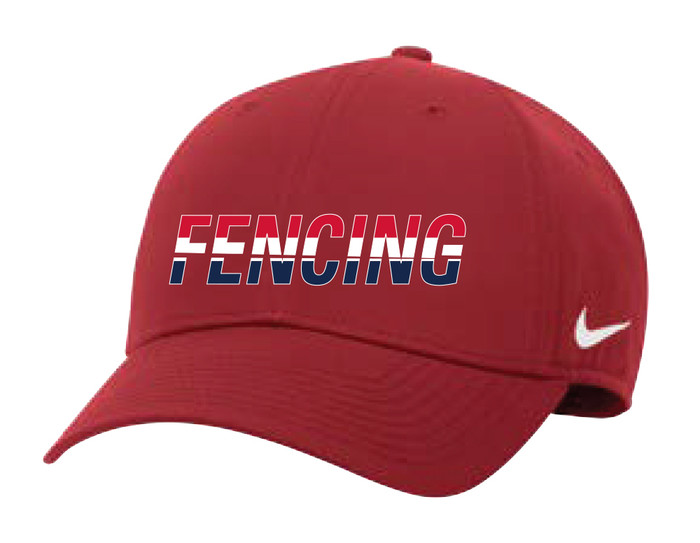 Nike Fencing Campus Cap - Red/White/Blue