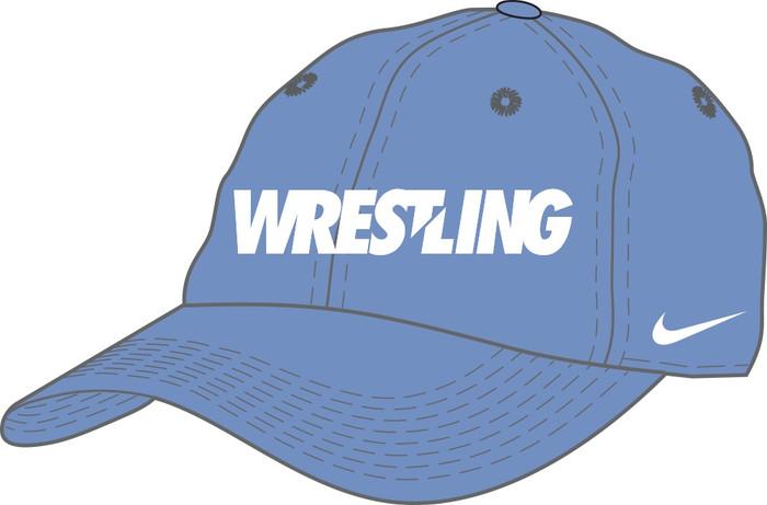 Nike Wrestling Campus Cap - Valor Blue/White