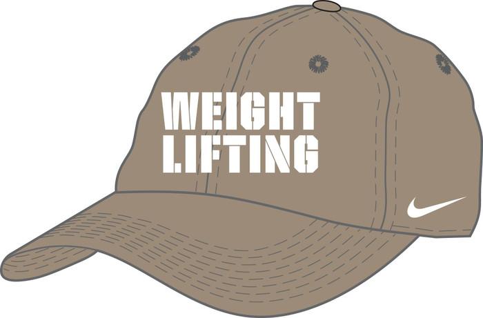 Nike Weightlifting Campus Cap - Khaki/White