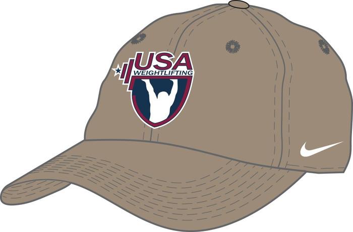 Nike USAW Campus Cap - Khaki
