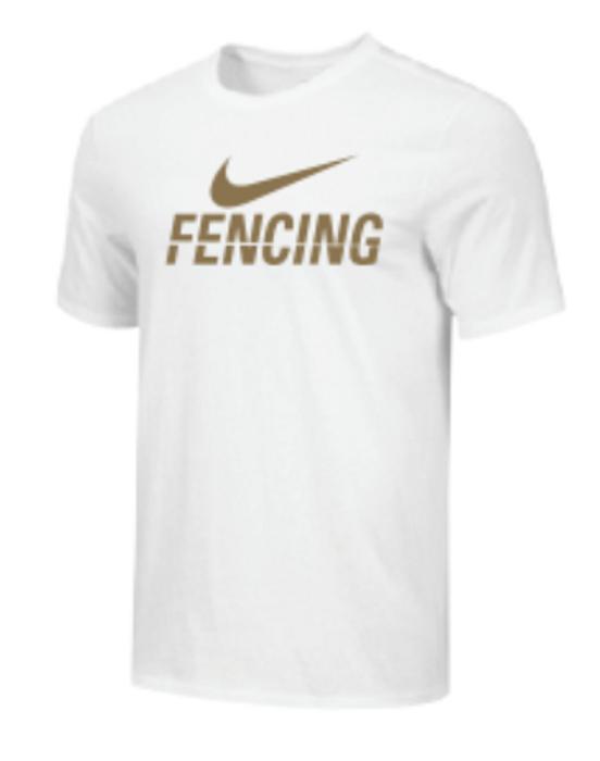 Nike Men's Fencing Tee - Gold/White