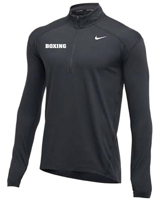 Nike Men's Boxing 1/2 Zip Top - Charcoal