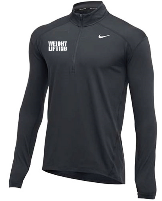 Nike Men's Weightlifting 1/2 Zip Top - Charcoal