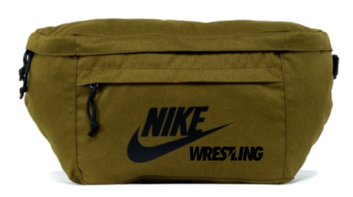 Nike Wrestling Tech Hip Pack - Olive/Black