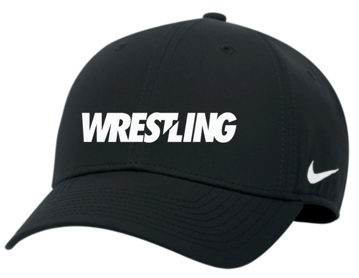 Nike Wrestling Campus Cap - Black/White