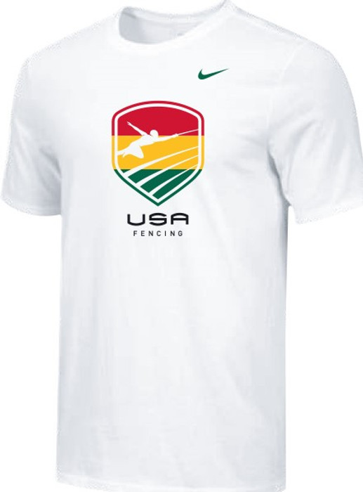 Nike Men's USA Fencing  Black History Month Tee - White