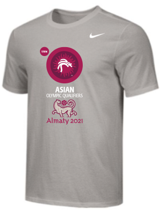 Nike Men's UWW Asian Olympic Qualifier Tee - Grey