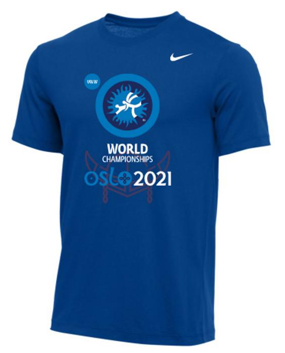 Nike Men's UWW Oslo Championships Tee - Royal