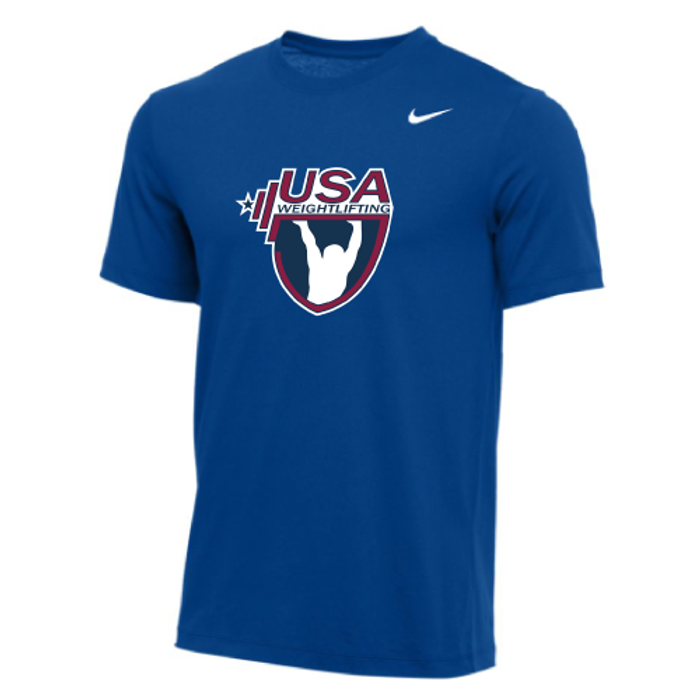 Nike Men's USA Weightlifting  Tee - Royal