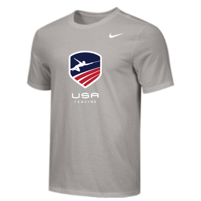 Nike Youth USA Fencing Tee - Grey