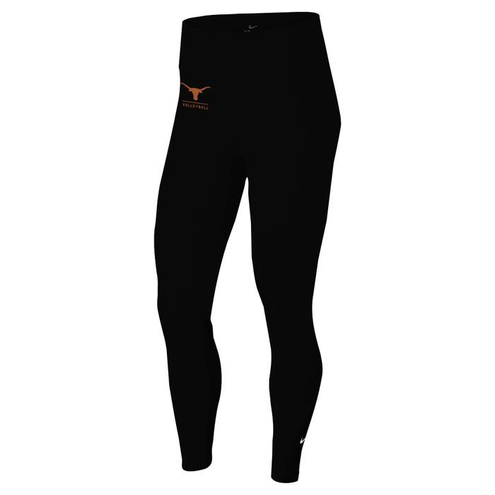 Nike Women's University of Texas One Tight - Black/Orange