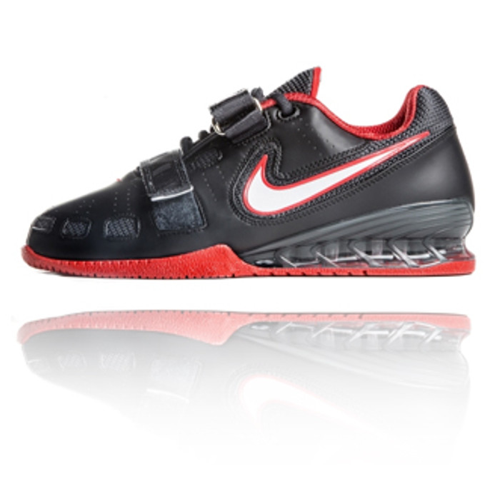 7935873702de Nike Romaleos 2 Weightlifting Shoes - Black   Red