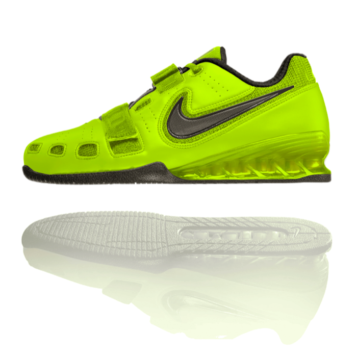 a7135c7057e8 Nike Romaleos 2 Weightlifting Shoes - Volt   Sequoia