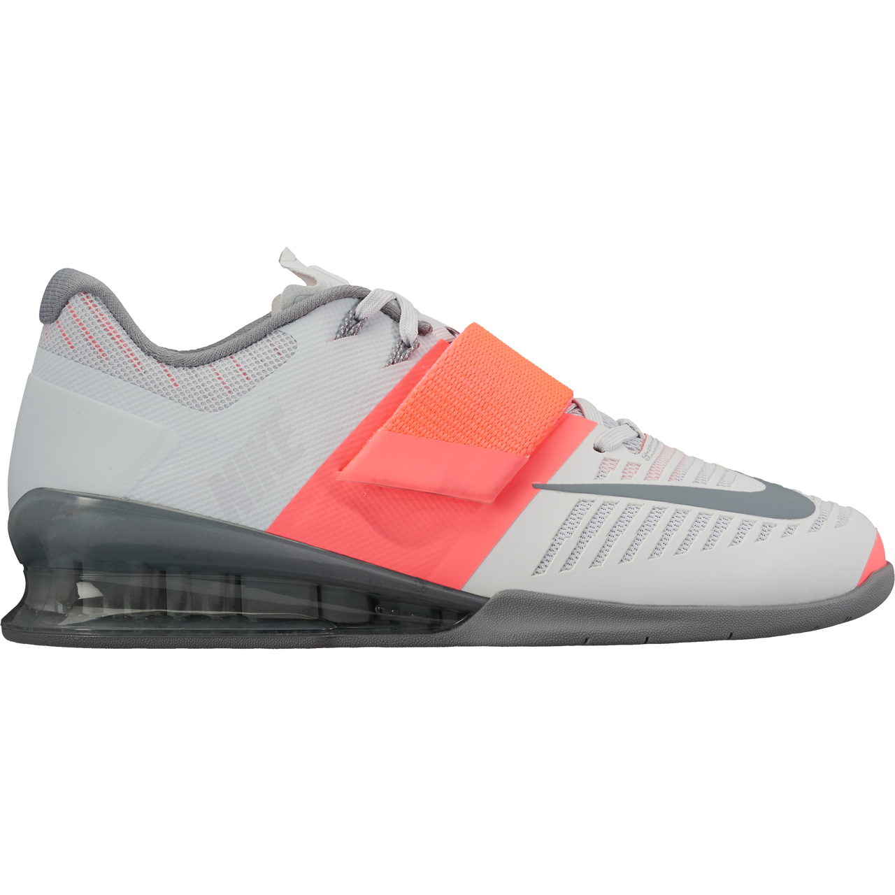 info for 3c98d dbc7b Nike Women s Romaleos 3 Weightlifting Shoes - Pure Plat Cool Grey HT Punch