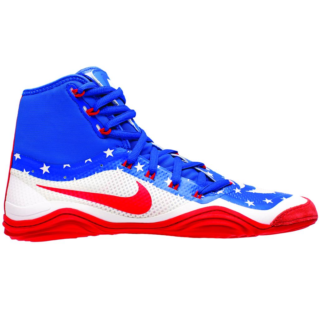 Nike Hypersweep Wrestling Shoe - Game Royal Univ Red White 658c569e1429
