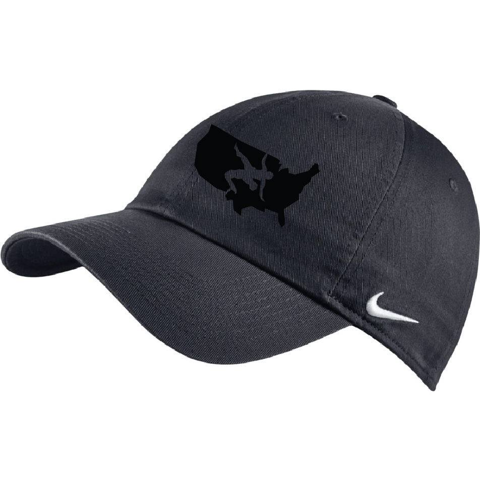 quality design 0c22a 88d50 Nike USAWR Stock Heritage 86 Cap - Grey Black