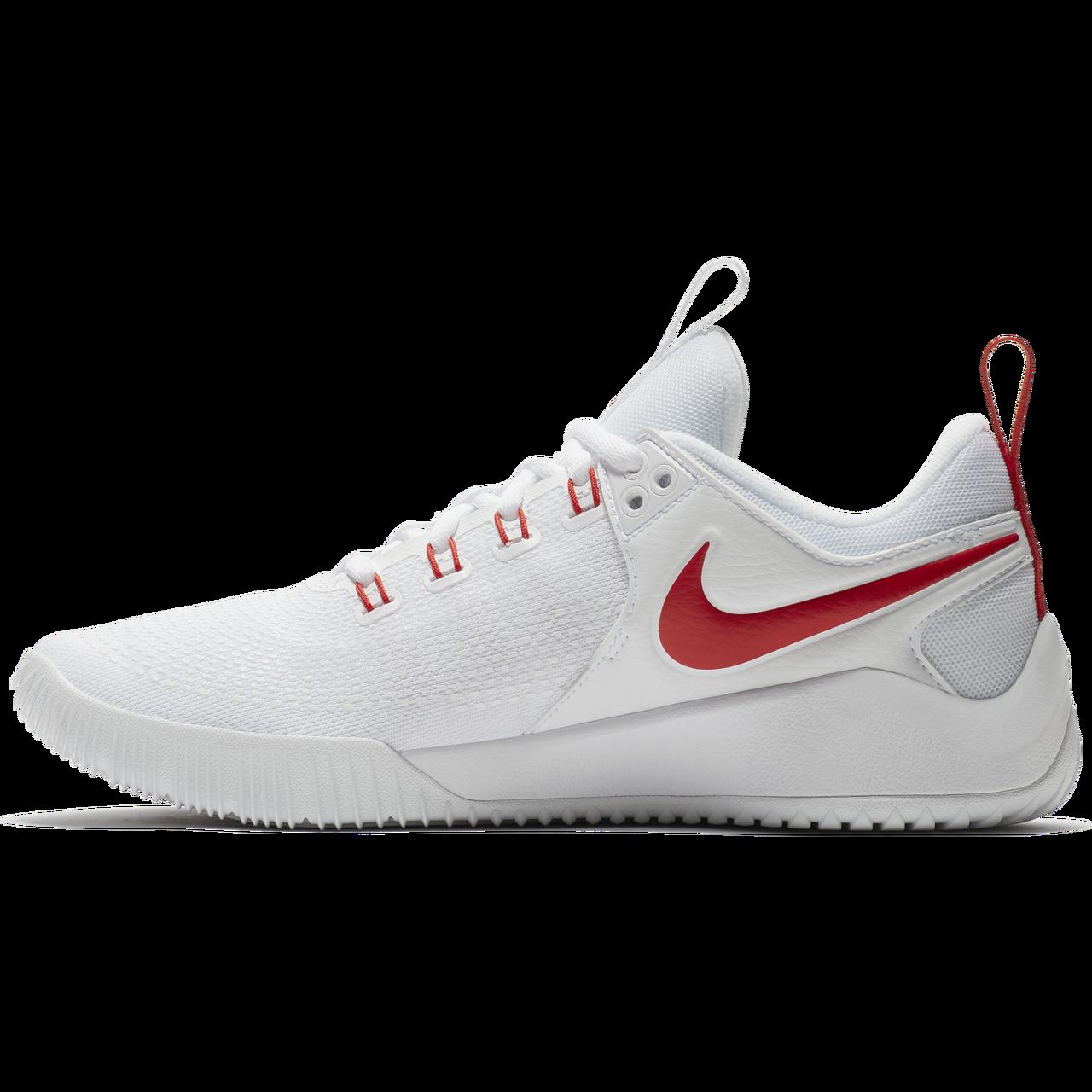 68bb8e2c8af55 Nike Men s Zoom HyperAce 2 - White University Red
