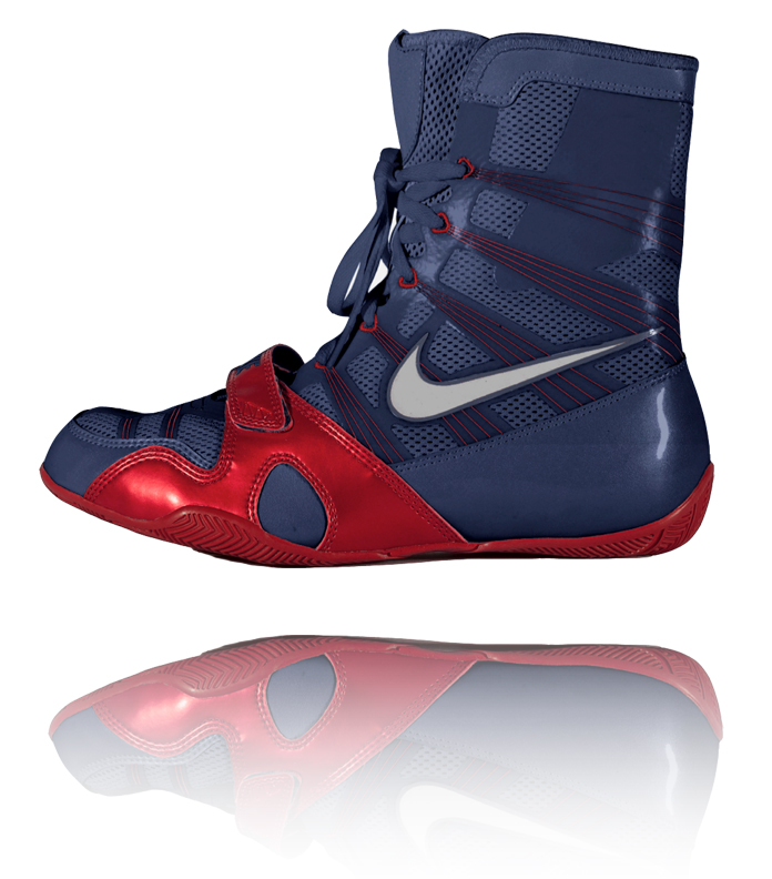 uk availability 2843d 73ddb Nike HyperKO - Obsidian   Red   Silver
