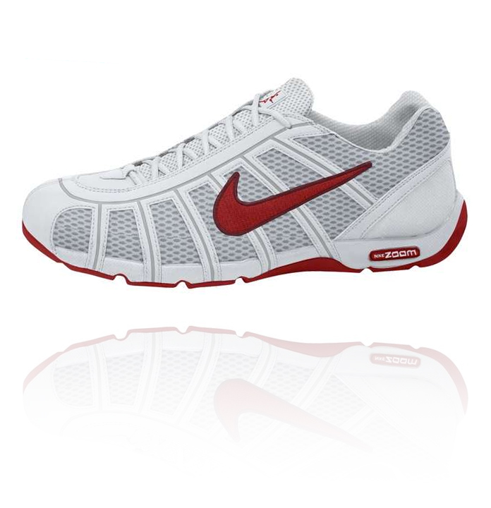 79db5342a7f2 Nike Air Zoom Fencer - White   Red