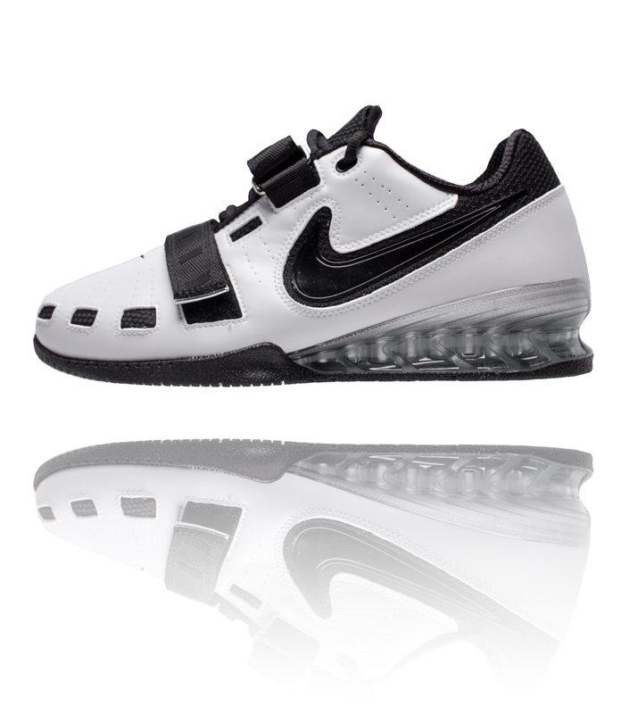 2 White Black Shoes Weightlifting Romaleos Nike q5wZv05