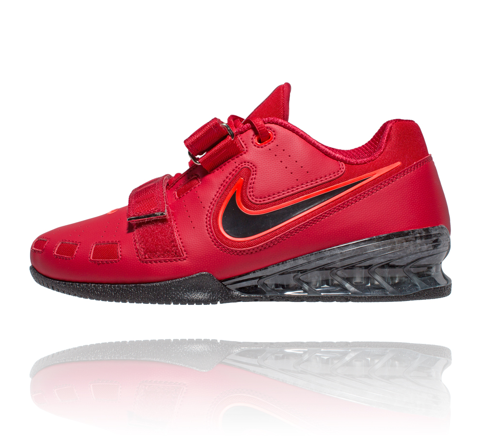 1dbf981c87fd Nike Romaleos 2 Weightlifting Shoes - Gym Red Bright Crimson Black