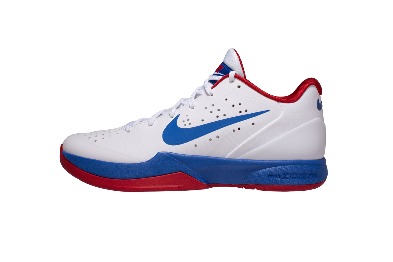 85c0333c3d9835 Nike Air Zoom Hyperattack Volleyball Shoes - White Varsity Royal Red