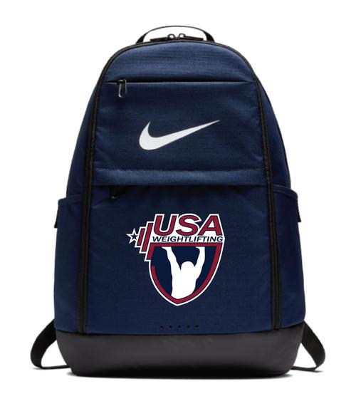Nike USAW Brasilia Backpack - Navy/Red/White/Blue