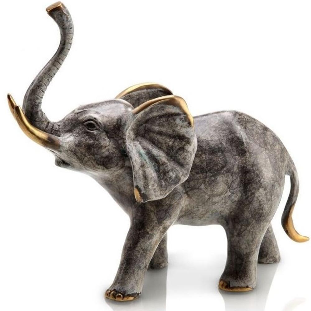Bellowing Elephant Sculpture   80246   SPI Home