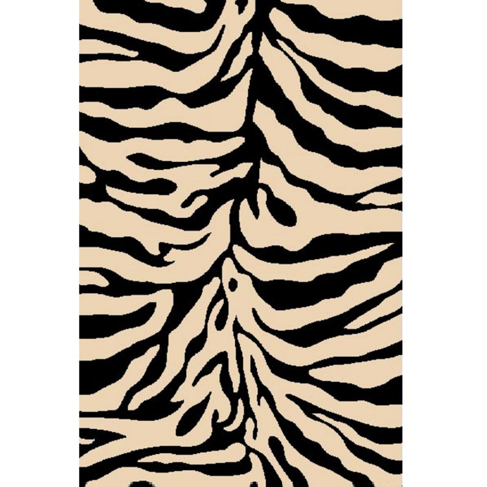 Zebra Sculpture Area Rug | Persian Weavers | S-245