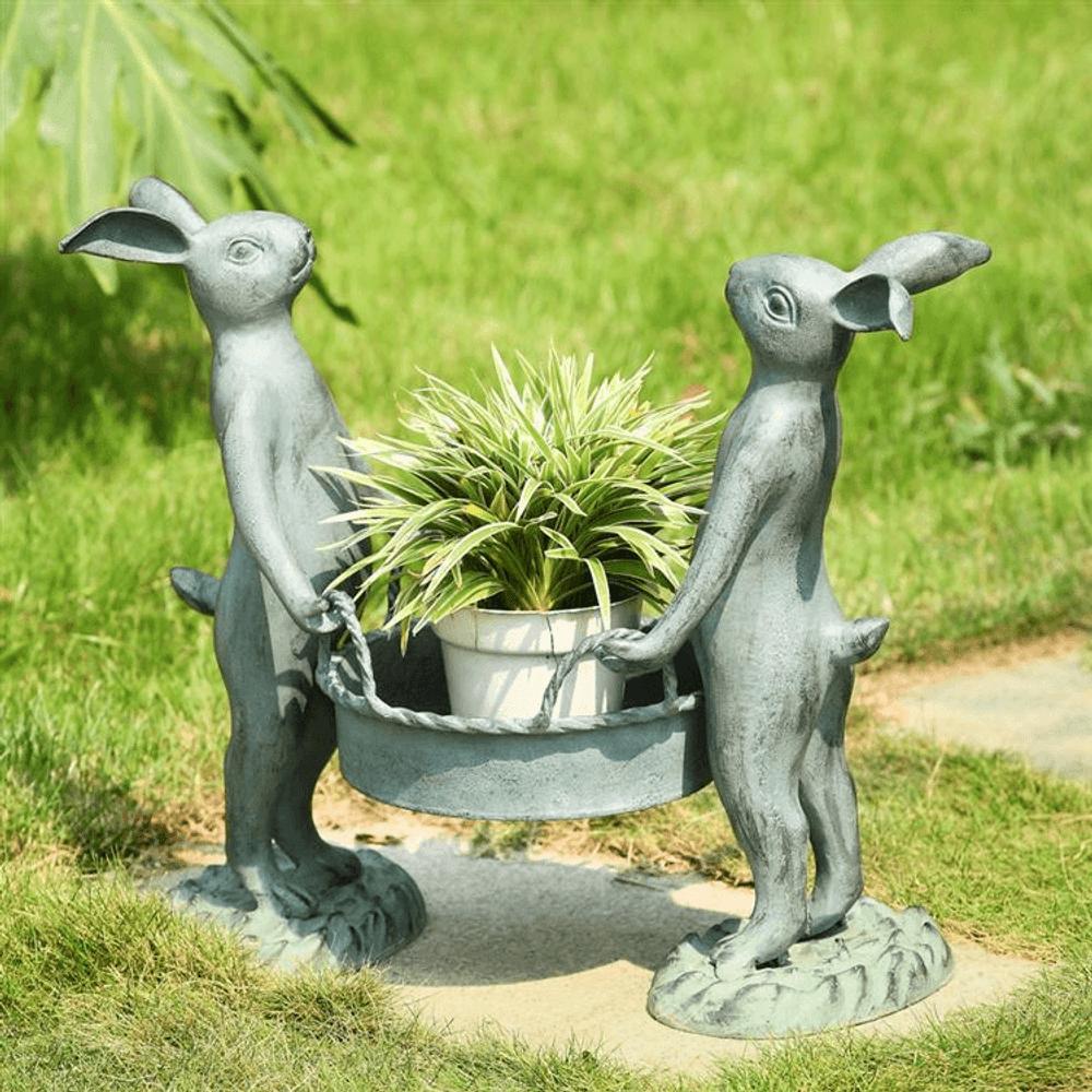 Bunny Garden Planter | 33213 | SPI Home -2