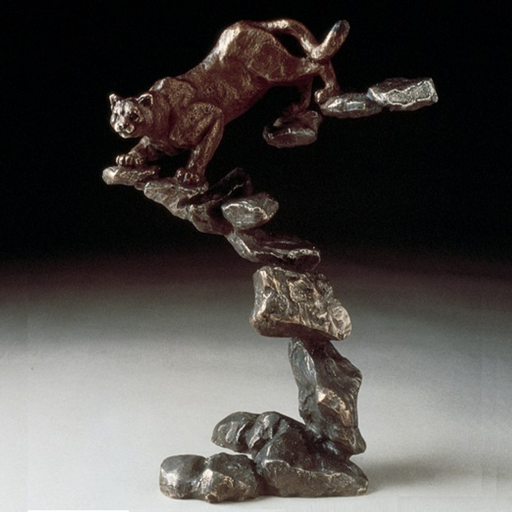 "Cougar Bronze Sculpture ""Cougar"" | Mark Hopkins | 22012"
