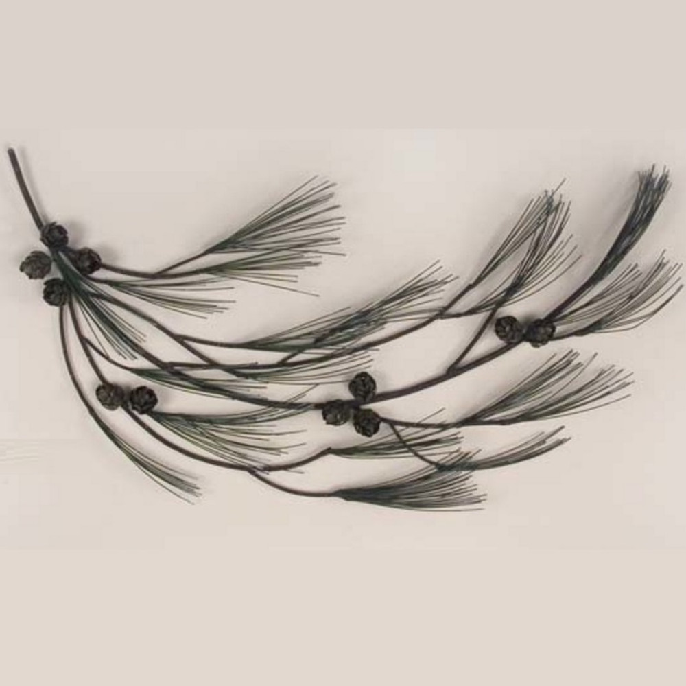 Pine Tree Branch Facing Right Wall Sculpture | TI Design | CA608R
