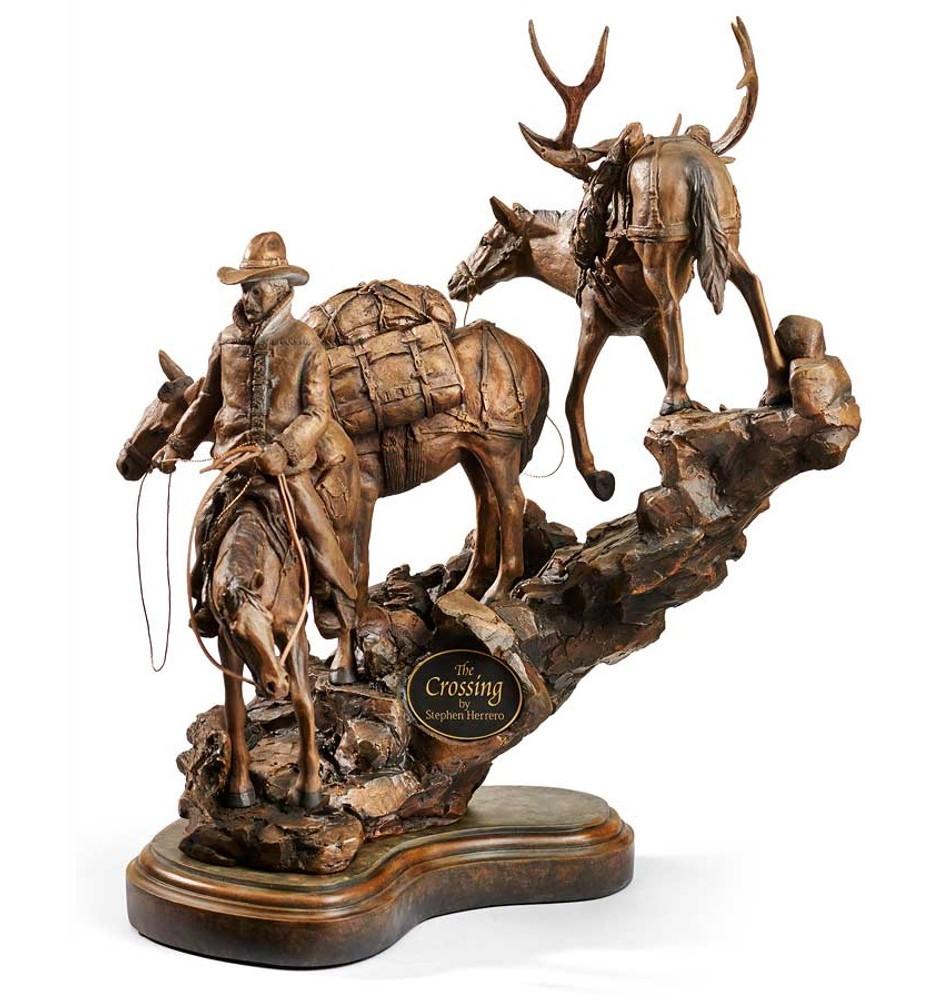 Cowboy Horse Sculpture | The Crossing | Mill Creek Studios | 6567444282