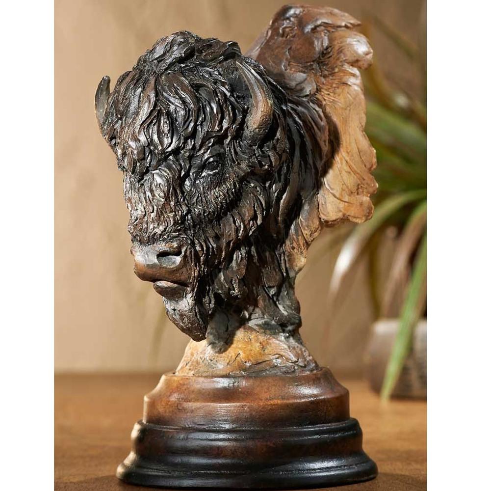 "Buffalo Sculpture ""Bad Lands"" | Mill Creek Studios | 6567440569"