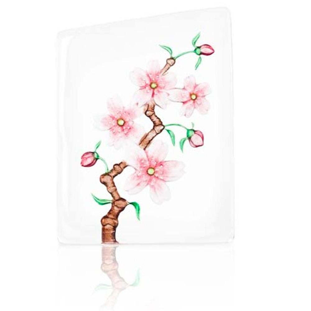 Cherry Blossom Crystal Sculpture   34102   Mats Jonasson Maleras