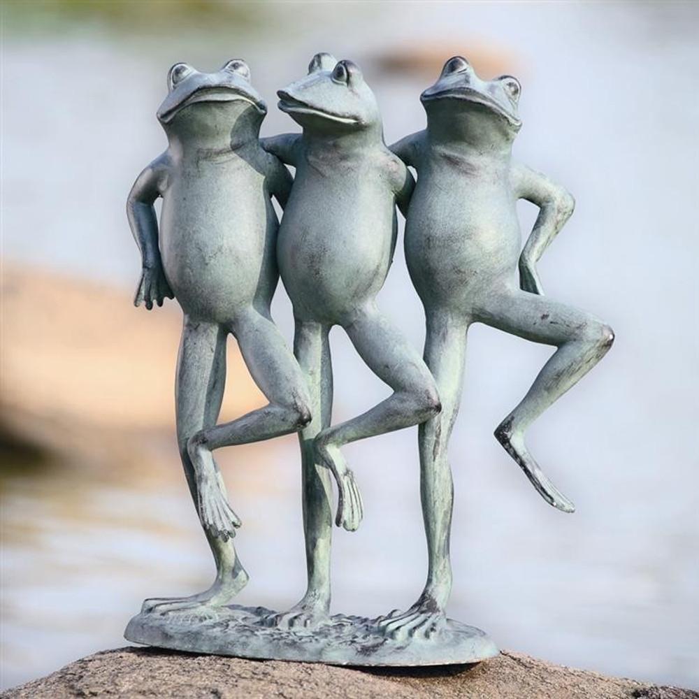 Dancing Frogs Sculpture | 33430 | SPI Home