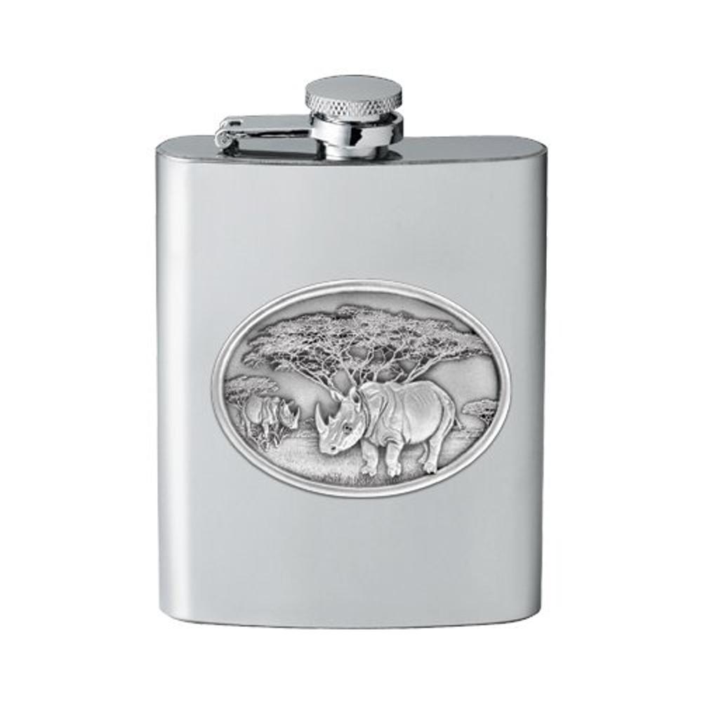 Rhino Flask | Heritage Pewter | HPIFSK136
