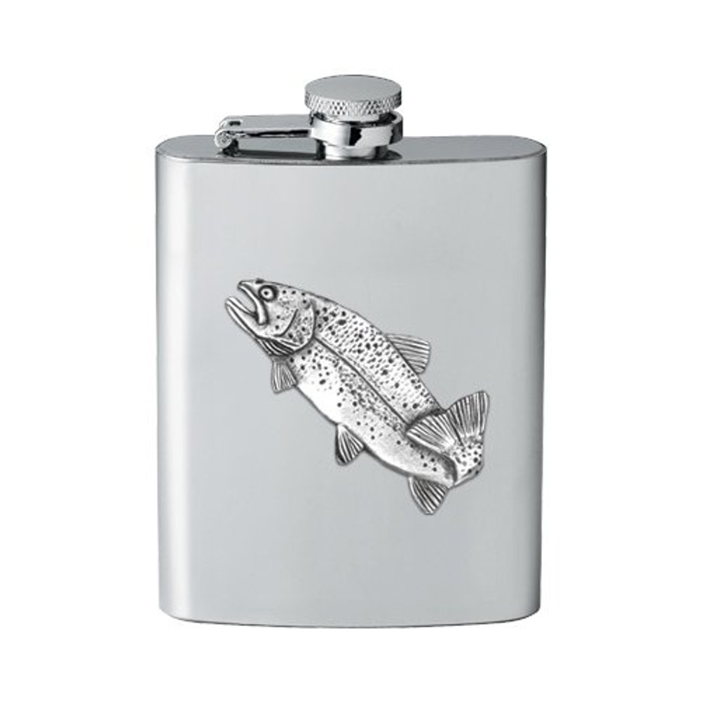 Trout Fish Flask | Heritage Pewter | FSK4034