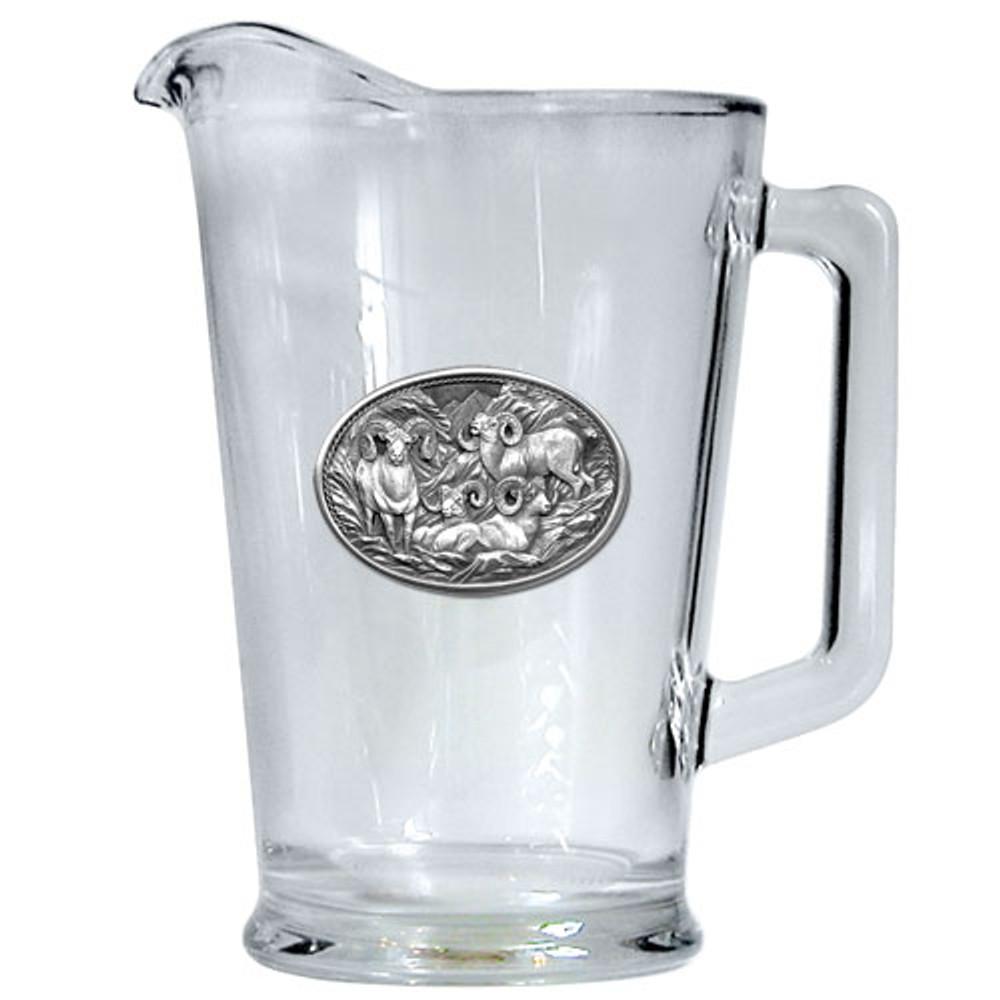 Bighorn Sheep Beer Pitcher | Heritage Pewter | HPIPI115