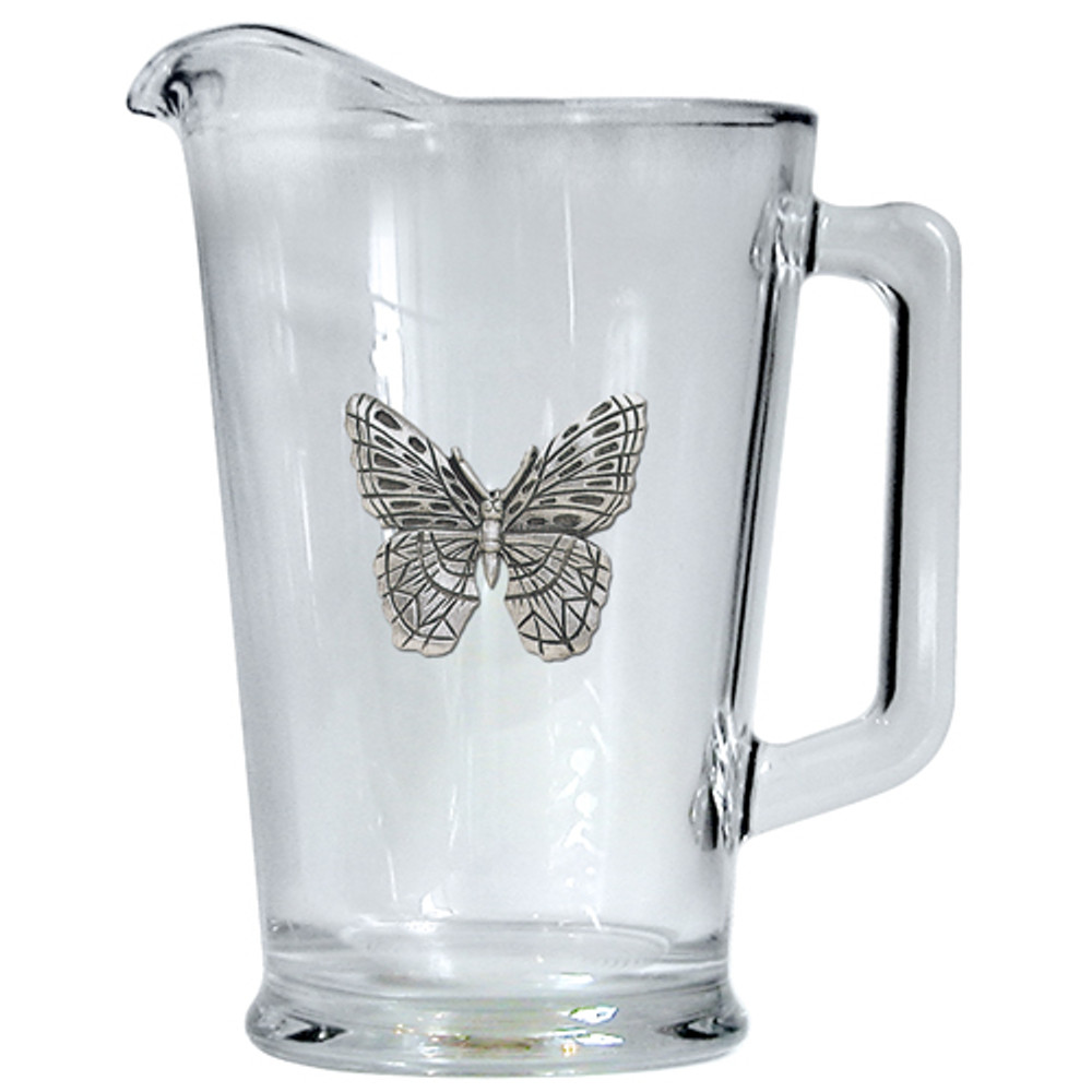 Butterfly Beer Pitcher | Heritage Pewter | HPIPI4053