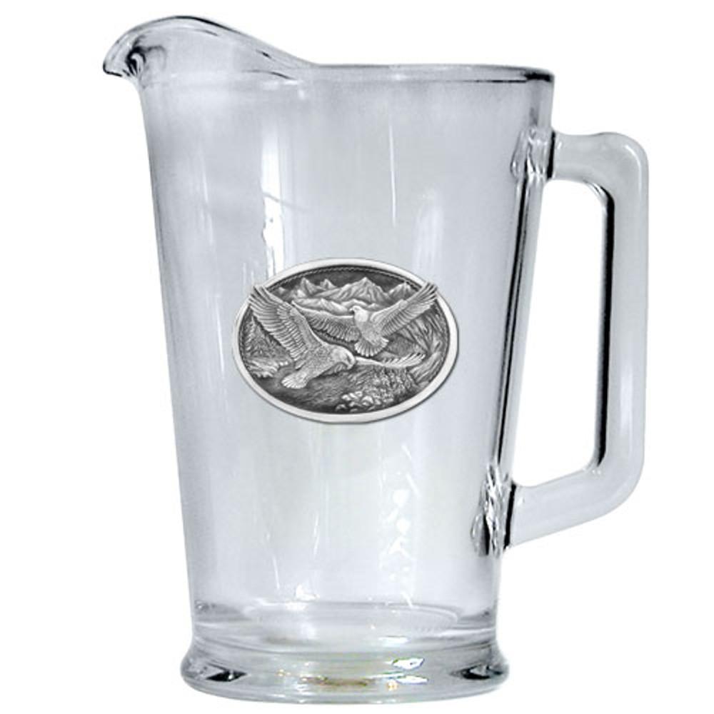 Eagle Beer Pitcher   Heritage Pewter   HPIPI109