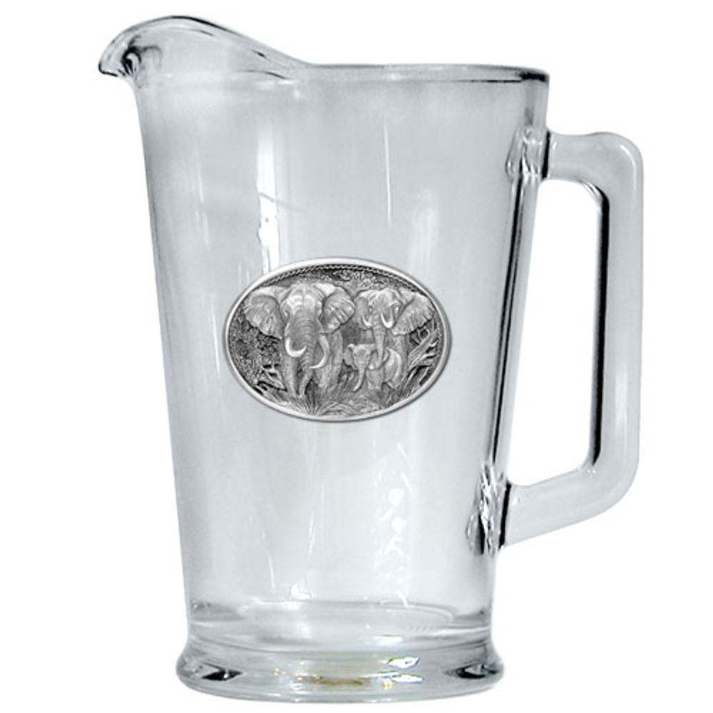 Elephant Beer Pitcher | Heritage Pewter | HPIPI120