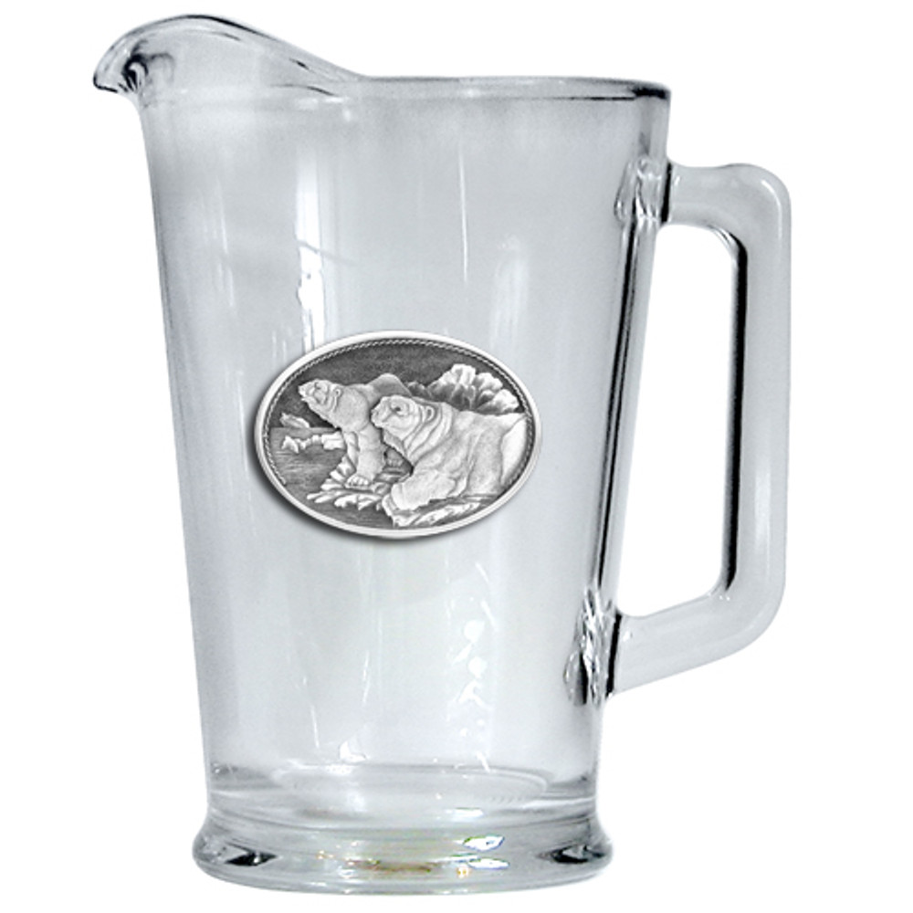 Polar Bear Beer Pitcher | Heritage Pewter | HPIPI112