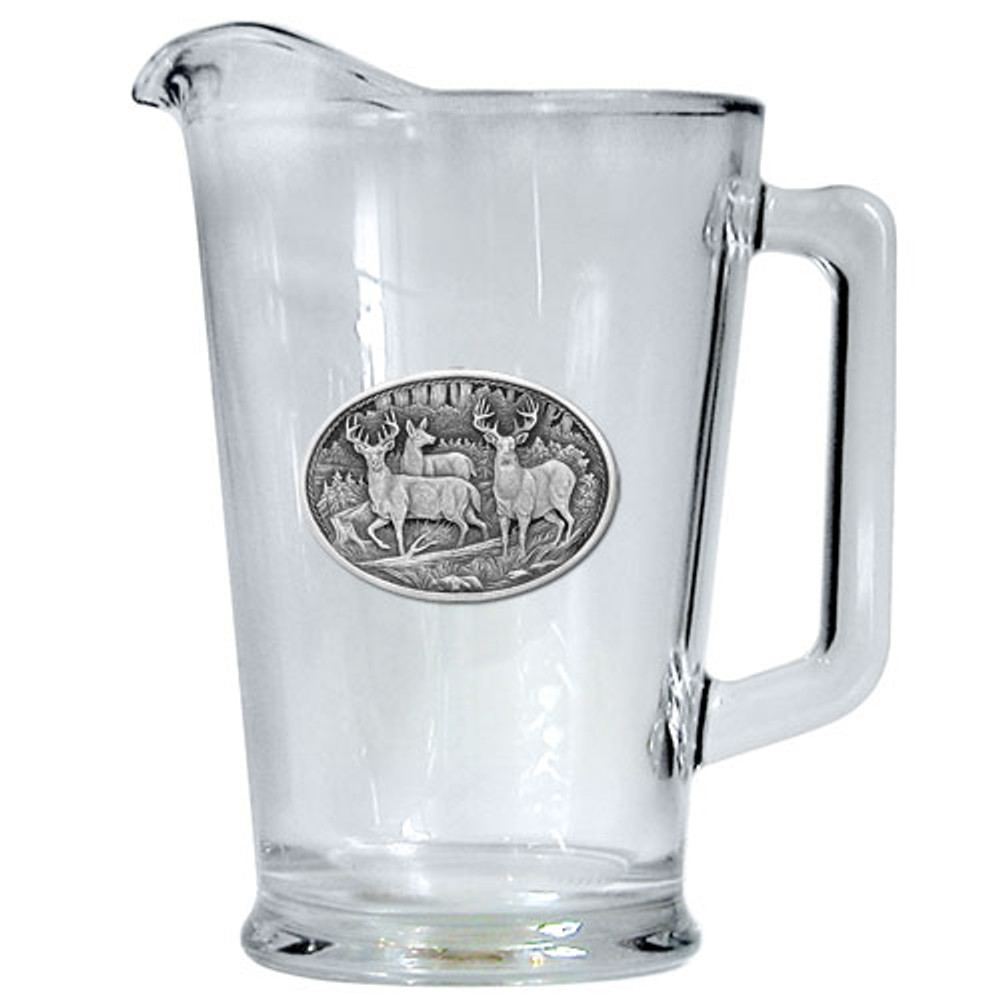 Whitetail Deer Beer Pitcher | Heritage Pewter | HPIPI114