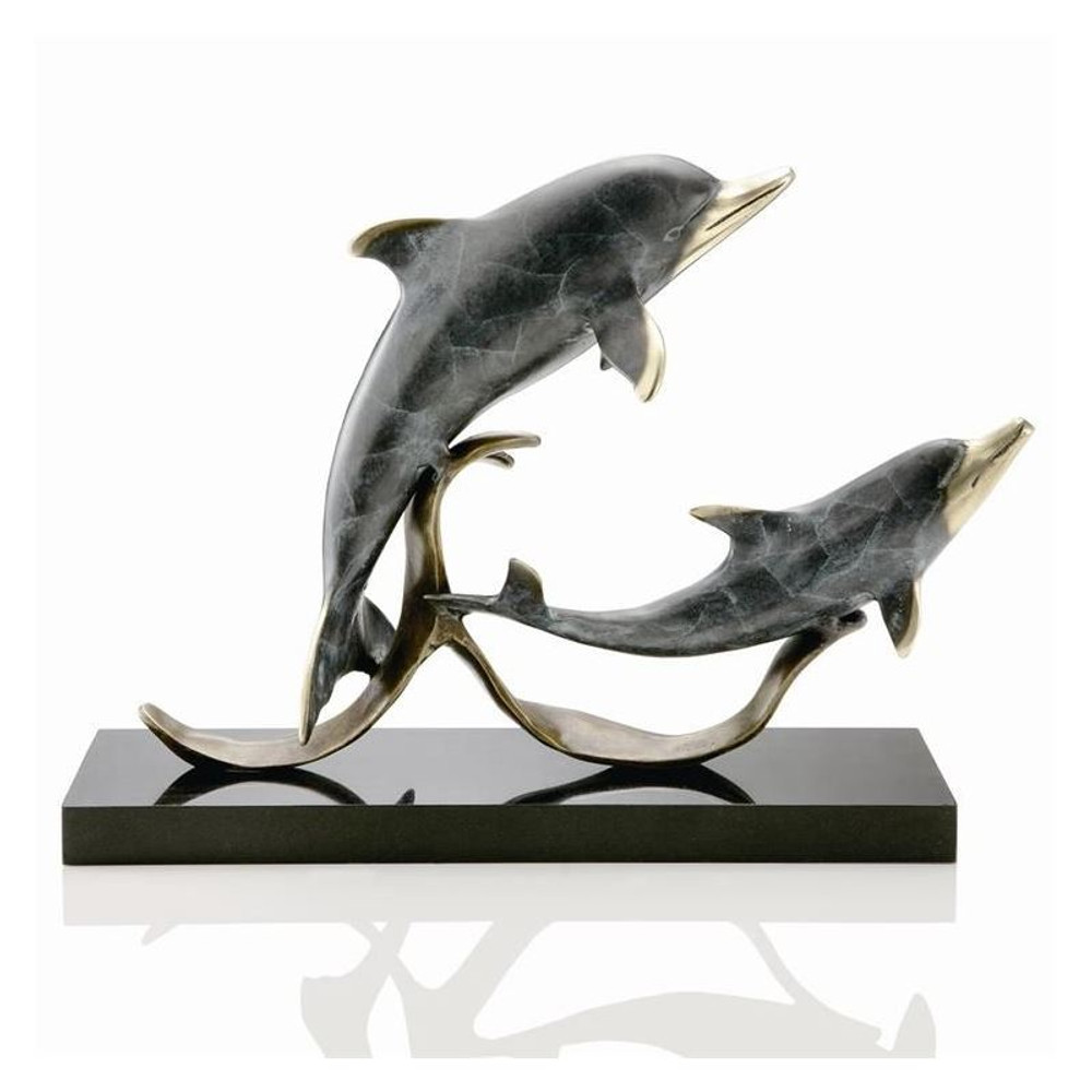 "Dolphin Sculpture ""Sailors Delight"" 