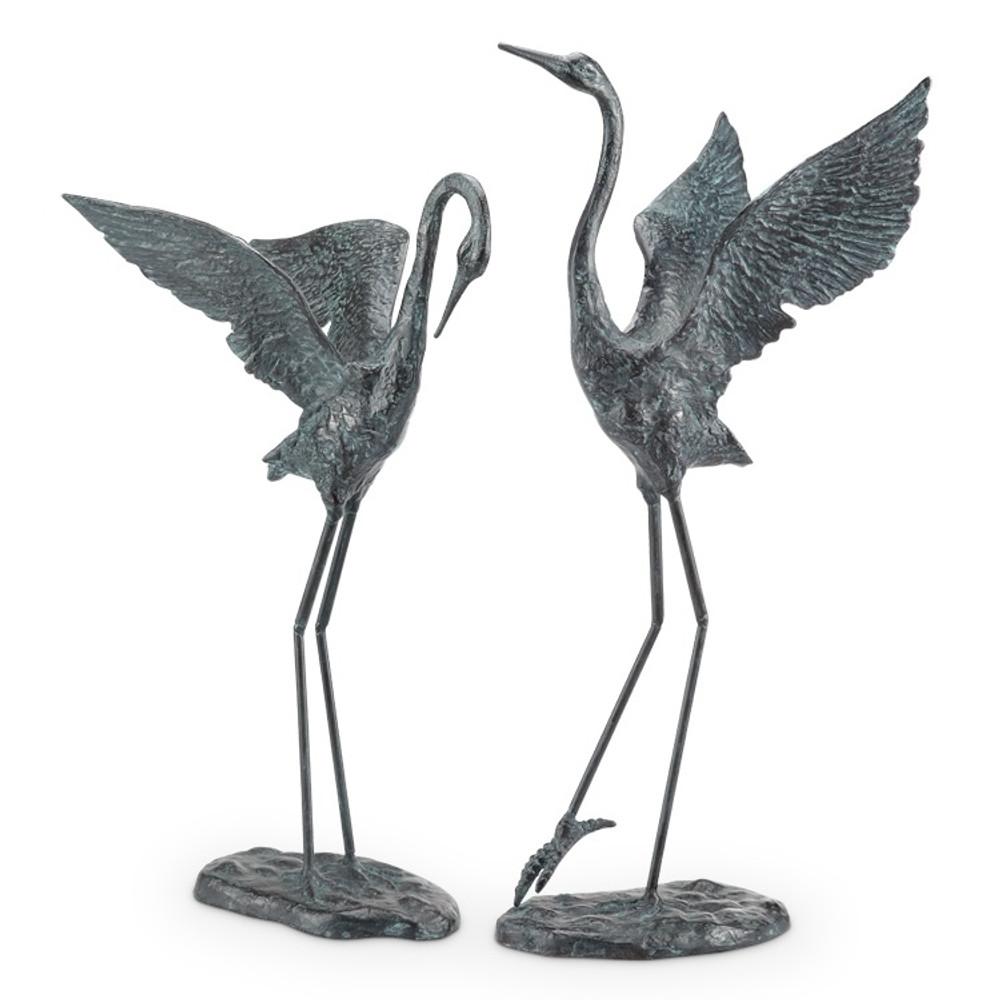 Crane Garden Pair | Exalted | 34280 | SPI Home-2