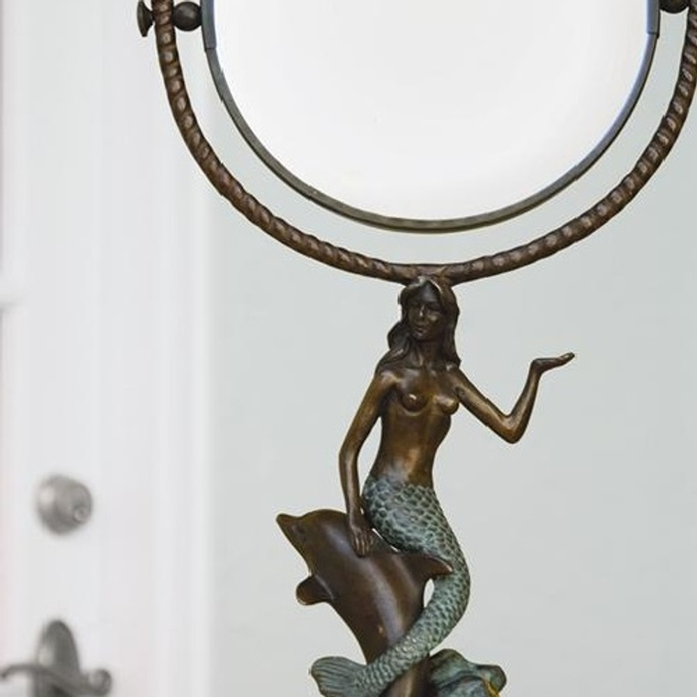 Mermaid & Dolphin Vanity Mirror | 30392 | SPI Home -2