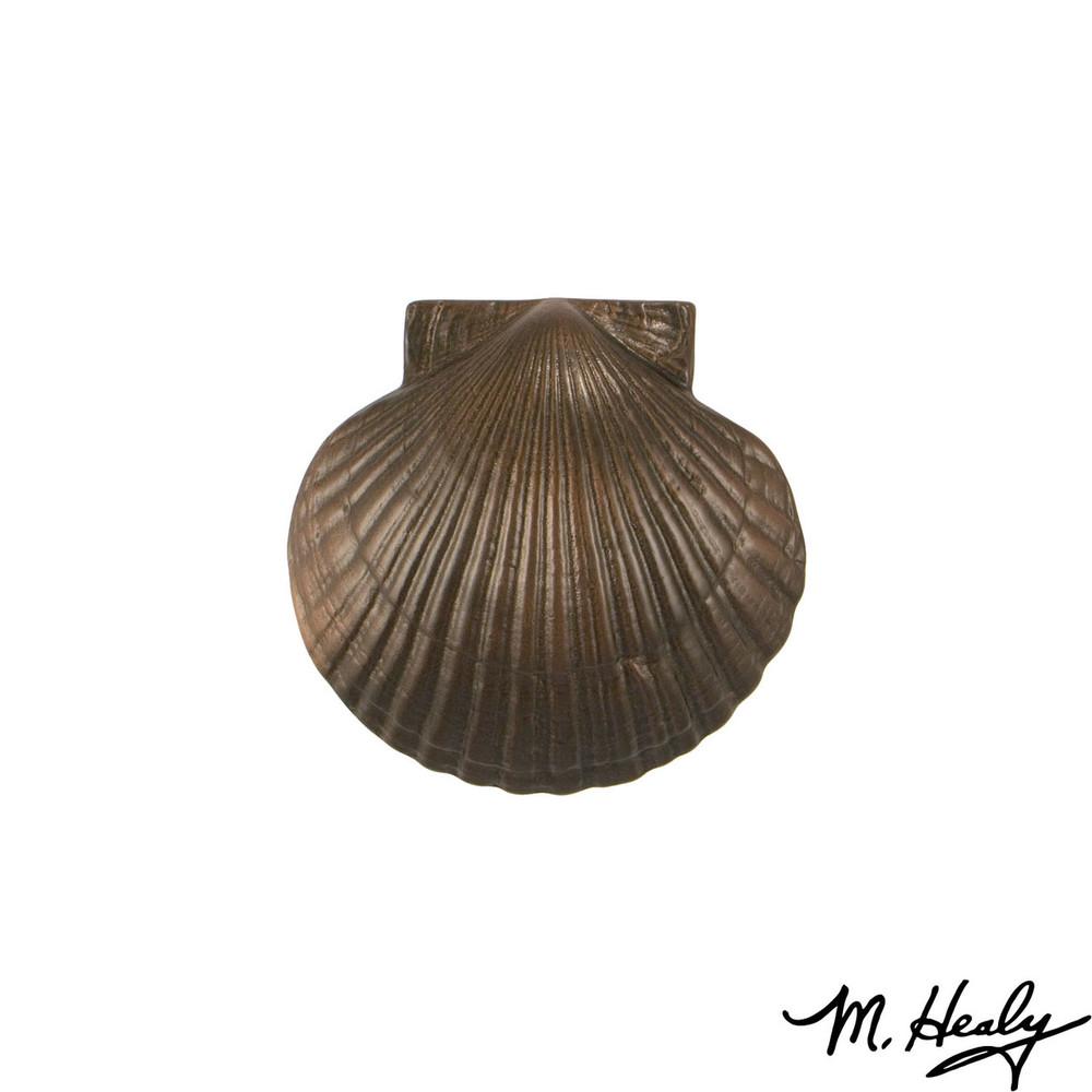 Bay Scallop Oiled Bronze Door Knocker | MHS33 | Michael Healy