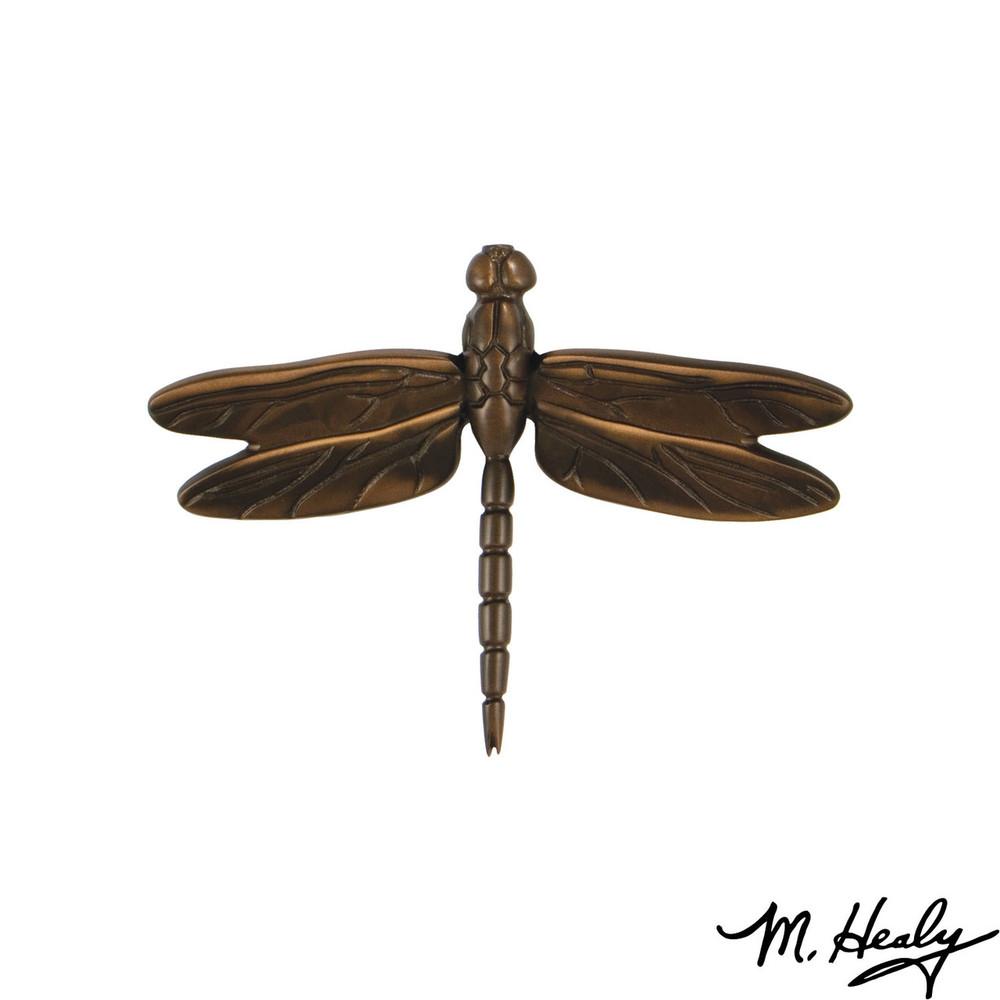 Dragonfly Oiled Bronze Door Knocker   MHS23   Michael Healy