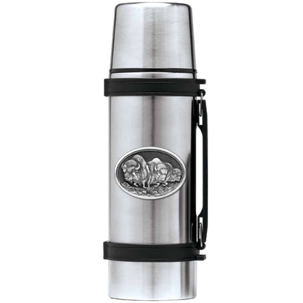 Buffalo Thermos | Heritage Pewter | HPITHS101